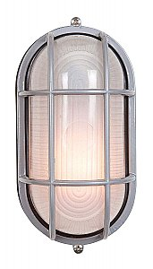 Access Lighting 20292-SAT/FST Nauticus Traditional / Classic Single Light Outdoor Wall Sconce