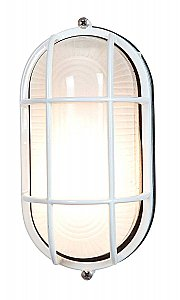 Access Lighting 20292-WH/FST Nauticus Traditional / Classic Single Light Outdoor Wall Sconce