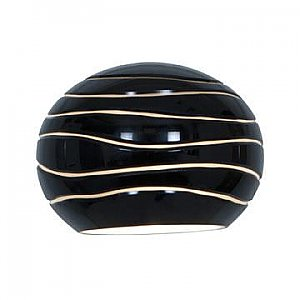 Access Lighting 979WJ-BLKLN Sphere Etched Glass Shade