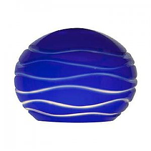 Access Lighting 979WJ-BLULN Sphere Etched Glass Shade
