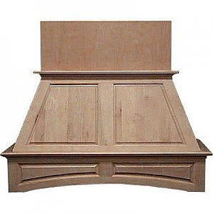 """Air-Pro FDWHRP0236 36"""" Wood Double Panel Wall Mounted Range Hood"""