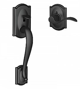 Schlage FE285CAM622ACCCAMLH Camelot Lower Handleset for Electronic Keypad