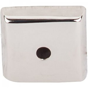 Top Knobs M2019 Aspen II Square Backplate 7/8 Inch in Polished Nickel