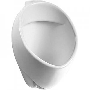 """Toto UT105UVG#01 Commercial 1/8 GPF Wall Mounted Urinal with SanaGloss and 3/4"""" Back Spud Inlet"""