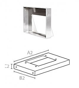 """Air-Pro 9040 36"""" Rectangular Liner for 06W and 06E Blowers"""