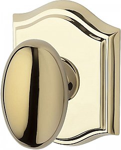 Baldwin ENELLTAR003 Ellipse Keyed Entry Single Cylinder Knobset with Traditional Arch Rose