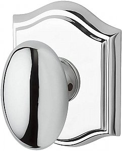 Baldwin ENELLTAR260 Ellipse Keyed Entry Single Cylinder Knobset with Traditional Arch Rose