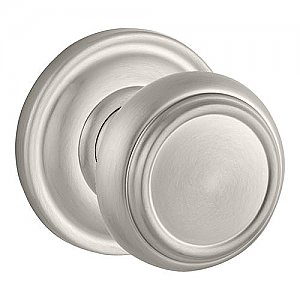 Baldwin ENTRATRR150 Traditional Keyed Entry Single Cylinder Knobset with Traditional Round Rose