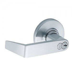 Schlage ND75BRHO626 Rhodes Commercial ANSI Grade 1 Heavy Duty Keyed Classroom Security Door Lever Set