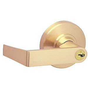 Schlage ND75RRHO612 Rhodes Commercial ANSI Grade 1 Heavy Duty Keyed Classroom Security Door Lever Set